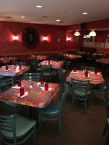 venturas mexican restaurant dinning room