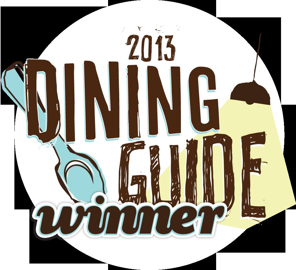 Dining Guide_winner-2013