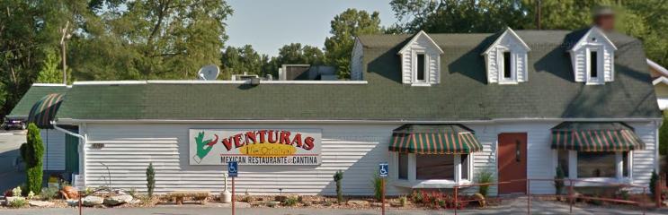 Ventura's toledo best mexican restaurant building